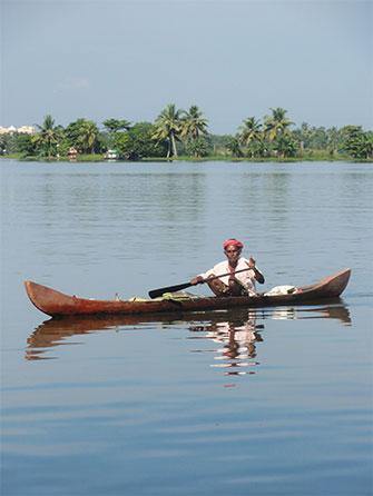 Indian backwaters