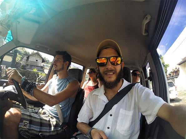 Bali road trip with our Swiss friends