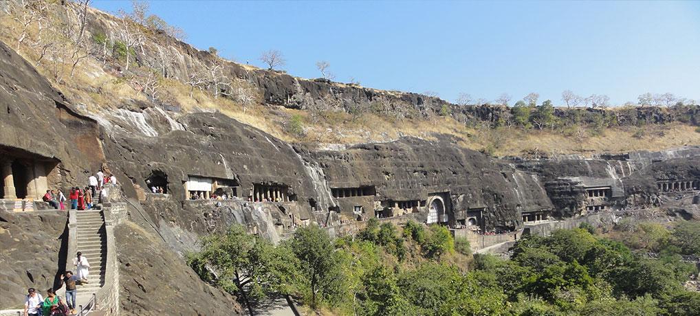 ANCIENT INDIA: ELLORA AND AJANTA CAVES