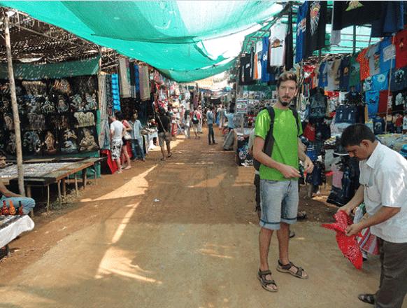 Anjuna-market
