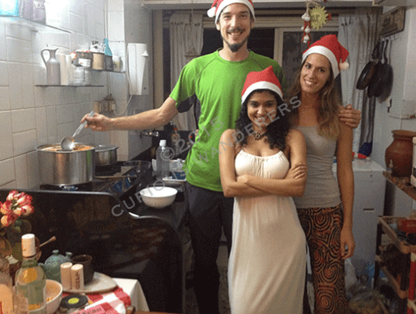 Celebrating Christmas at Louella's