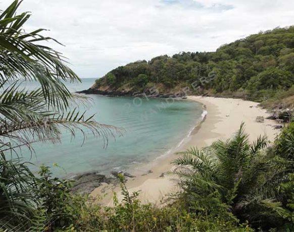 "Our ""private"" beach in Koh Lanta"