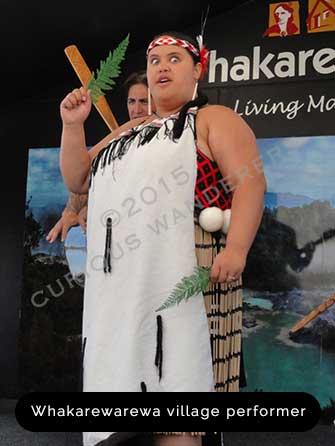 Whakarewarewa-village-performer