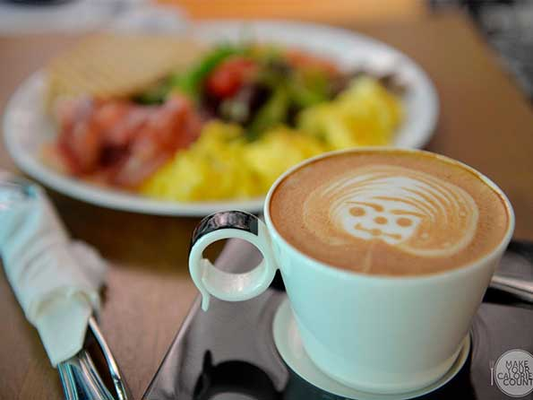 Brunch and coffee