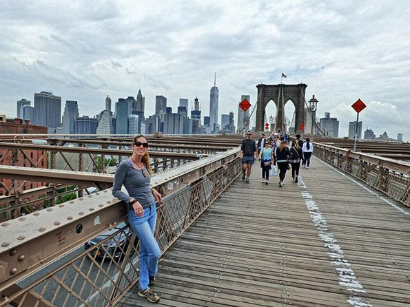 A walk over Brooklyn bridge